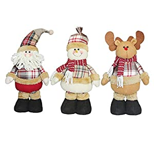 Special Christmas Ornament Cute Stretchable Telescopic Doll Decoration Christmas Dolls Gift Tree Hanging Decorations