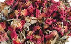 Dried Rose - Bulk Herbs: Roses, Red (Organic) - 1 oz.