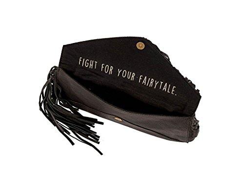 Urban STS Ranchwear Black Envelope Womens Clutch nTB8x