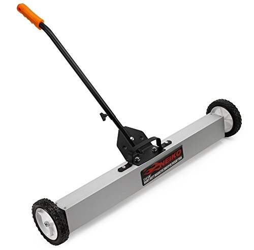 Neiko 53418A Magnetic Pick-Up Sweeper with Wheels 30 Lb, 36"