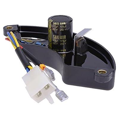 QKPARTS AVR 290440008 290440012 BM10680 BM10680S BM907000 Voltage Regulator 6Wire 4Kw to 10Kw