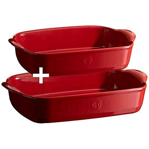 (Emile Henry 349751 Baking Dish Set (Set Of 2), 11.4