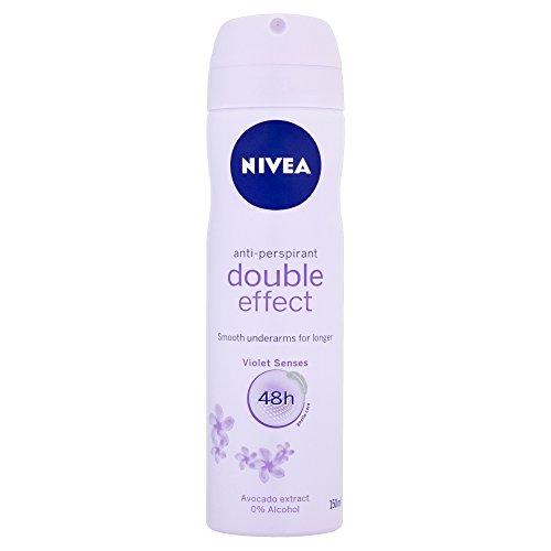 Nivea Women's Anti-Perspirant Spray, Double Effect, 48 Hours Deodorant, 150...