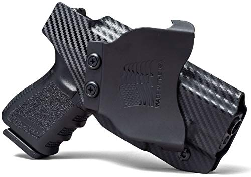 Concealment Express OWB Paddle KYDEX Gun Holster: fits Ruger SR22 - Custom Fit - US Made - Outside Waistband - Adj. Cant & Retention (Holster Lh Sr22)