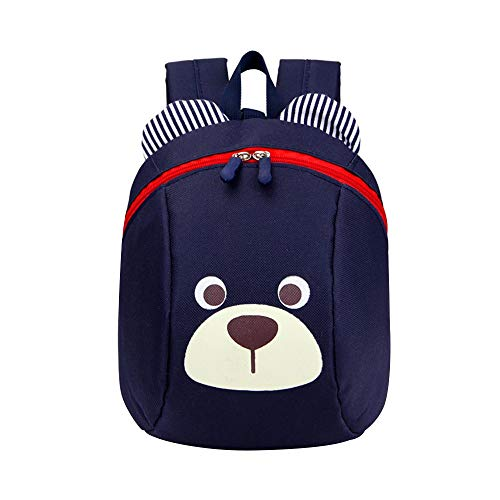 (NEEKEY Toddler Kids Backpack Child Cute Cartoon Bear Preschool Backpack)