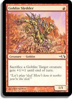 Magic: the Gathering - Goblin Sledder - Duel Decks: Elves vs Goblins