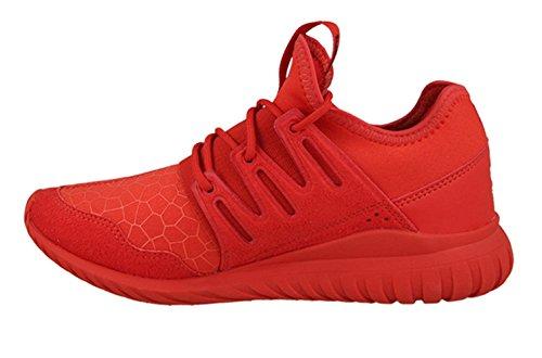 Red Gimnasia Tubular Rosso adidas Unisex J Red os Zapatillas de ni Cblack Radial wPxqaRaX