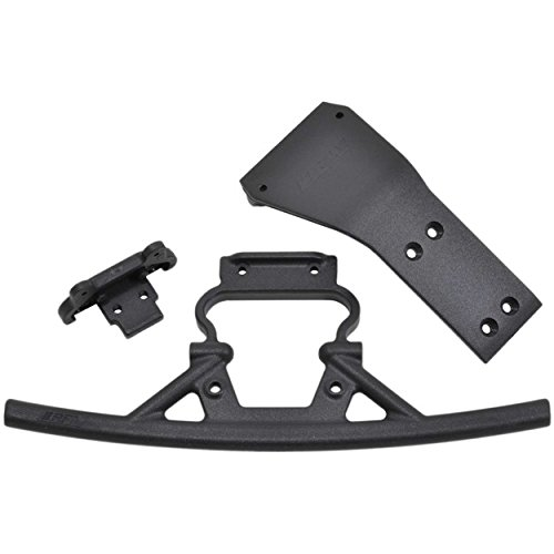 RPM 73742 Front Bumper & Skid Plate: Losi Baja Rey (Rpm Front Skid Plate)