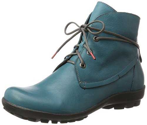 free shipping Manchester Think! Women's Inua Boots Blue (Petrol/Kombi 88) with paypal sale online cheap great deals XDRKmb