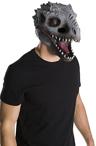 Mens Dino Costume (Rubie's Costume Co Men's Jurassic World Dino 2 3/4 Mask, Multi, One Size)