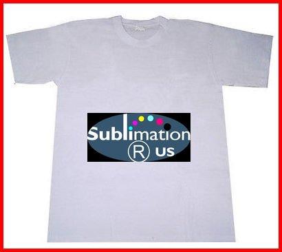 21e914cb1a4b02 Plain White Sublimation T-Shirt - blank Polyester T-shirts for dye sub  printing
