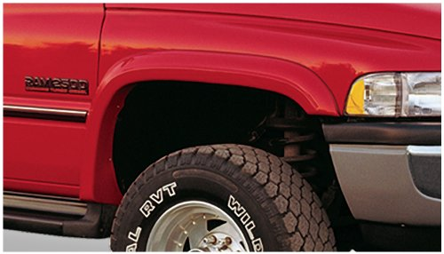 Bushwacker 50009-11 Dodge Extend-A-Fender Flare - Front Pair