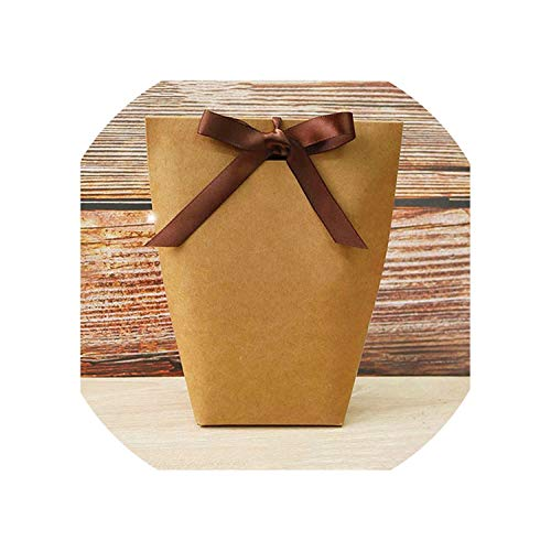 5Pcs Wedding Favors Gift Box Package Birthday Party Favor Bags,13.5X16.5Cm Thankyou -