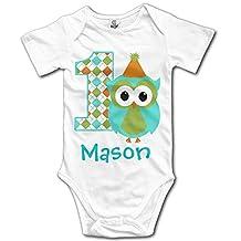 Nightbird First Birthday Infant Unisex Baby Clothes Bodysuit In 4 Sizes