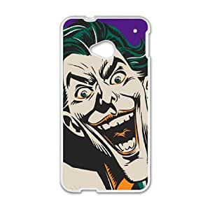 HTC One M7 Cell Phone Case White The Classic Joker LV7937358