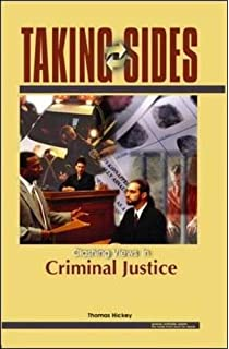 Amazon taking sides clashing views in crime and criminology taking sides clashing views on controversial issues in criminal justice fandeluxe Images