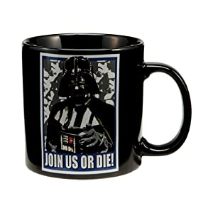 Star Wars Darth Vader 20 oz Black Ceramic Mug