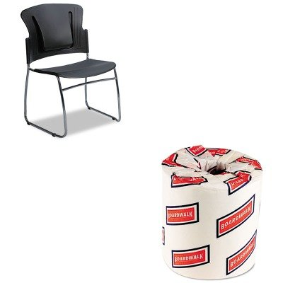 KITBLT34428BWK6180 - Value Kit - Balt ReFlex Series Stacking Chair (BLT34428) and White 2-Ply Toilet Tissue, 4.5quot; x 3quot; Sheet Size (Reflex Stacking Chair)