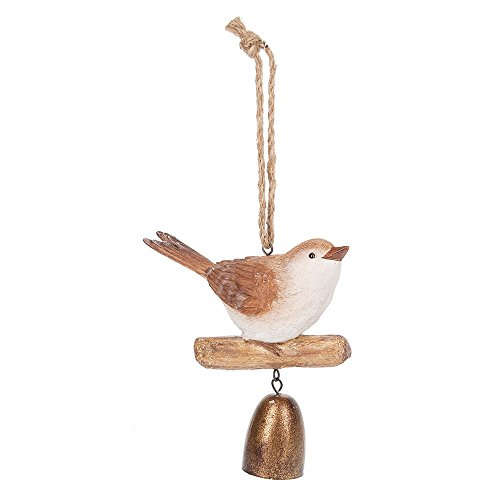Midwest CBK 7″ Resin Brown Finch Bell Wind Chime