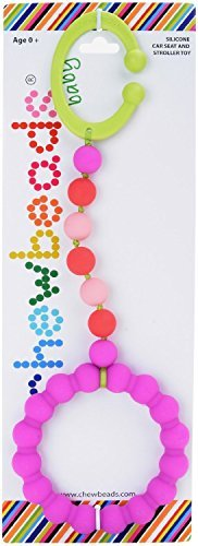 Chewbeads Gramercy Stroller Toy - Pink by Chewbeads by Chewbeads