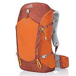 Gregory Mountain Products Zulu 30 Liter Men's Day Hiking Backpack | Day Hikes, Camping, Travel | Ventilated Suspension, Rain Cover Included, Hydration Compatible | Breathable Comfort on The Trail