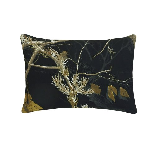Realtree AP Black Oblong Pillow]()