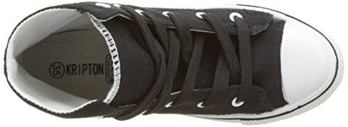 Kripton Herren West Alta Sneakers, Schwarz, 41 EU