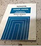 1985 1986 1987 1988 1989 Toyota A440L A440F Land Cruiser Transmission Manual 90