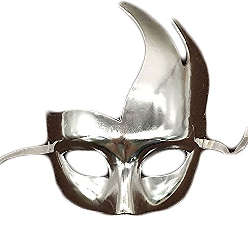 CXYP Masquerade Mask Plated Flame Mask for Halloween Costume Party (Flame Mask)