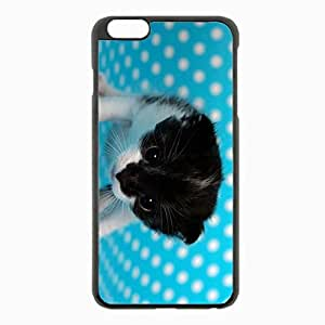 iPhone 6 Plus Black Hardshell Case 5.5inch - backgrounds spotted Desin Images Protector Back Cover