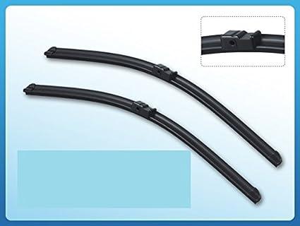 Paquete doble de escobillas para limpiaparabrisas Aero, ajuste para escobillas de 56 - 46 cm