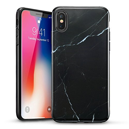 ESR-iPhone-X-Case-iPhone-X-Marble-CaseSlim-Soft-Flexible-TPU-Marble-Pattern-Cover-for-iPhone-XiPhone-102017-Release