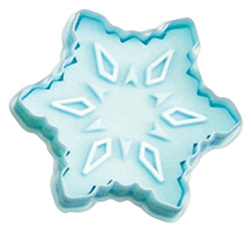 CybrTrayd RM-0403-3LOT R&M Snowflake 2.75' Cookie Stamper (Set of 3), Blue