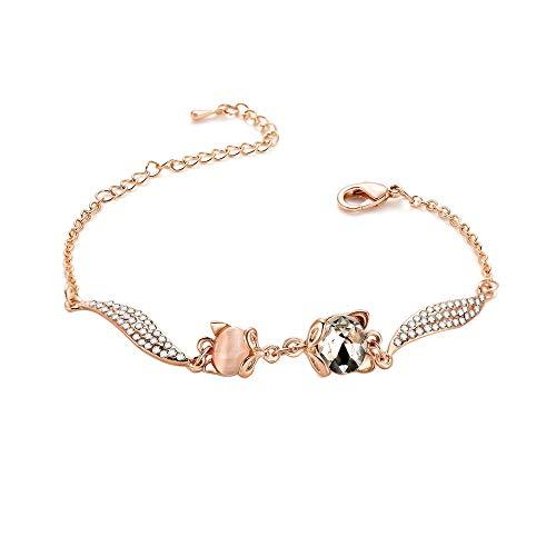 es Bracelet, Rhinestone Simple Versatile, for Bridal, Wedding, Prom, Party, Pageant, Evening Wear, Party Wear, Tennis Bracelet ()