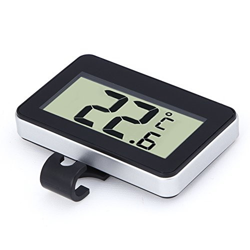 Machine Accessories Digital Lcd Thermometer Temperature Meter W/Magnet Hook For Home Office Room Kitchen Refrigerator Indoor Outdoor White/Black by Machine Accessories (Image #6)