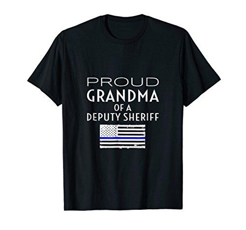 - Proud Deputy Sheriff Grandma Grandmother Grandmom Tee Shirt