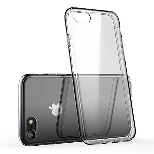 (iPhone 7 Clear Case/iPhone 8 Clear Case, technext020 Shockproof Ultra Slim Fit Silicone TPU Soft Gel Rubber Cover Shock Resistance Protective Back Bumper for iPhone 7 / iPhone 8 Clear)