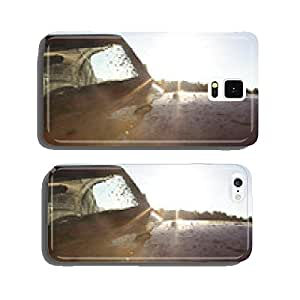A detail of a muddy 4x4 off road vehicle. cell phone cover case iPhone5