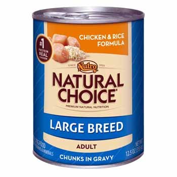 Nat12.5OZ Chic Dog Food