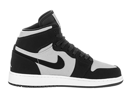 Nike Air Jordan 1 Retro High GG Basketballschuh Wolf Grau / Weiß / Schwarz