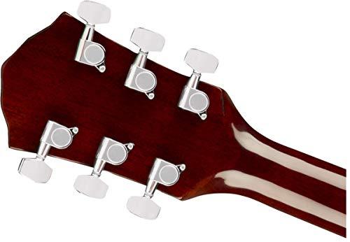 Fender FA-125CE Dreadnought 6-String Acoustic Guitar, 20 Frets, Set Neck, Walnut Fingerboard, Gloss, Natural