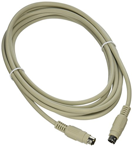 C2G 09471 PS/2 M/M Keyboard/Mouse Cable, Beige (10 Feet, 3.04 Meters) ()