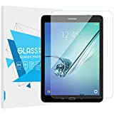 "TiMOVO Samsung Galaxy Tab S2 9.7"" Screen Protector, [Case Friendly] Ultra Clear Hardness Tempered Glass Screen Protector Bubble-Free Anti-Scratch Film for Galaxy Tab S2 9.7 Inch Tablet - Clear"