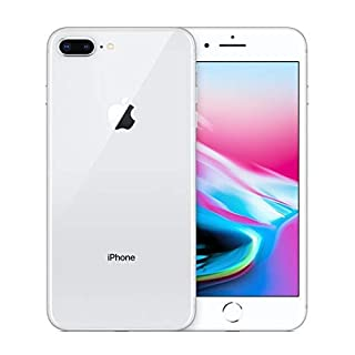 Apple iPhone 8 Plus, 64GB, Silver - For T-Mobile (Renewed)