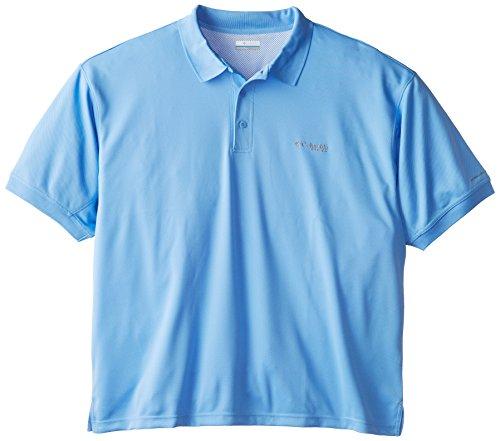 Columbia Sportswear Men's Perfect Cast Polo Shirt, White Cap, 3X -