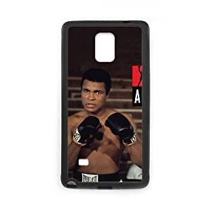 Samsung Galaxy Note 4 Cell Phone Case Black Muhammad Ali wroig