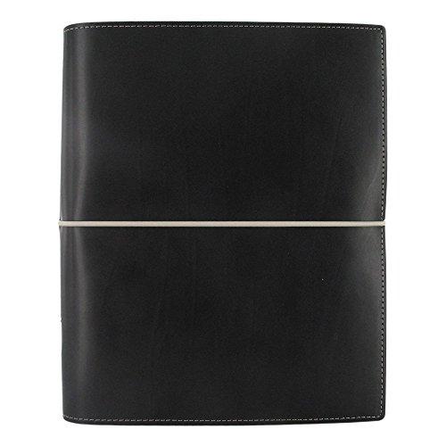 Filofax 2019 A5 Domino Organizer, Black, Paper Size 8.25 x 5.75 inches ()