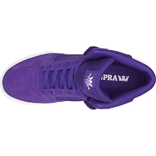 Supra Vaider LC Sneaker Lila-weiß