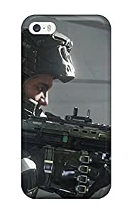 Tpu Case Cover Compatible For Iphone 5/5s/ Hot Case/ Call Of Duty Advanced Warfare