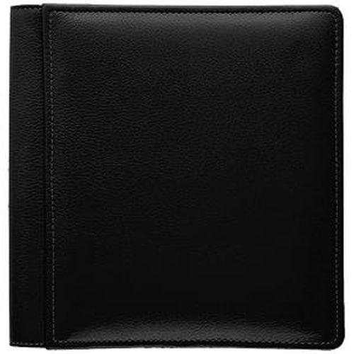 RODEO BLACK #103 pebble grain leather 1-up 5x7 album by Raika - 5x7